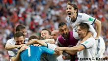 Fußball WM 2018 Spanien vs Russland