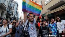 Türkei Gay Pride Parade Istanbul