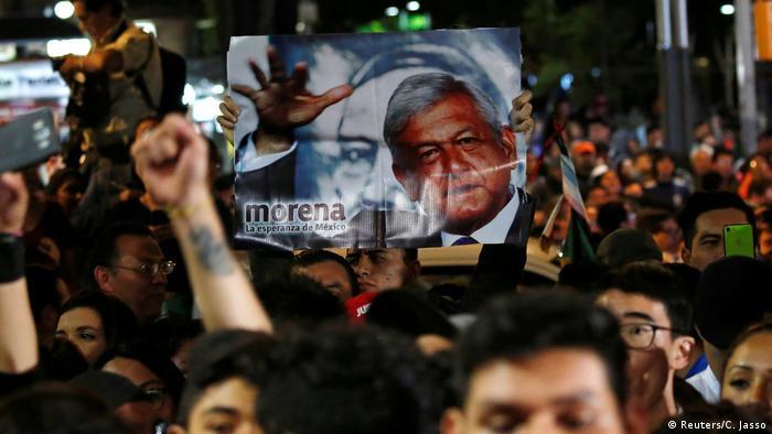Mexico - Andres Manuel Lopez Obrador gewinnt Wahl