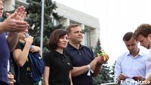 Republik Moldau - Proteste der demokratischen Opposition in Chisinau