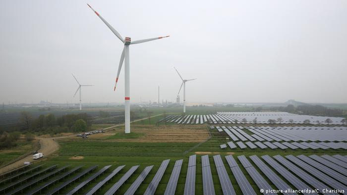 Ветряки и солнечные батареи в Шлезвиг-Гольштейне