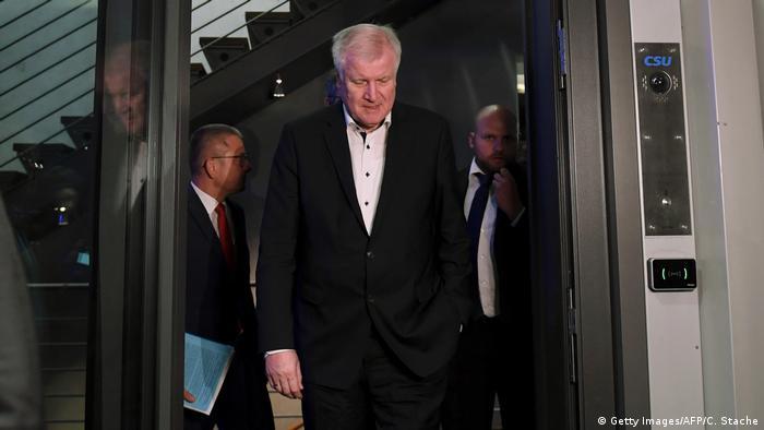 Berlin - CDU Treffen: Horst Seehofer