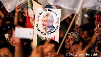 Mexico - Andres Manuel Lopez Obrador zum neuen Präsident gewählt (Reuters/A. Meneghini)