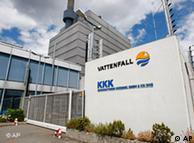 La compañía sueca Vattenfall, propietaria de Krümmel, en el punto de mira.