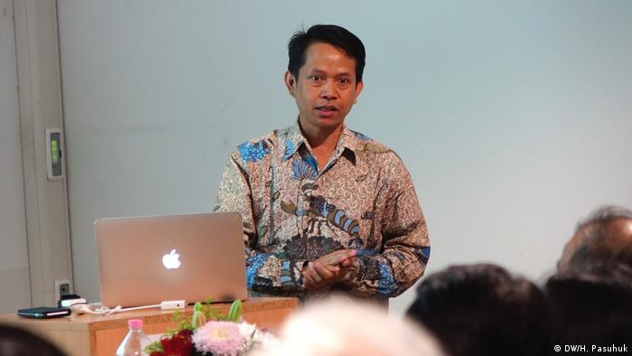 Hamburg - Diskussion über Indonesien, Universität Hamburg (DW/H. Pasuhuk)