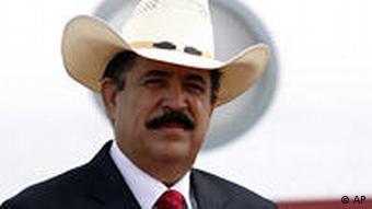 Honduras Putsch Präsident Manuel Zelaya in Panama