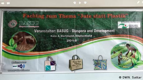 Workshop Jute statt Plastik (DW/N. Sattar)
