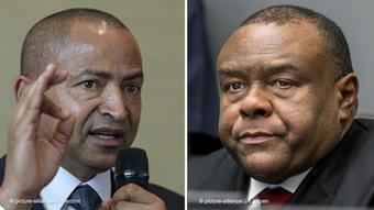 Moïse Katumbi (à gauche) et Jean-Pierre Bemba (à droite) ont été reçus par Felix Tshisekedi lors des consultations nationales