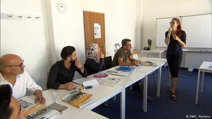 German language course in Austria (DW/C. Martens)