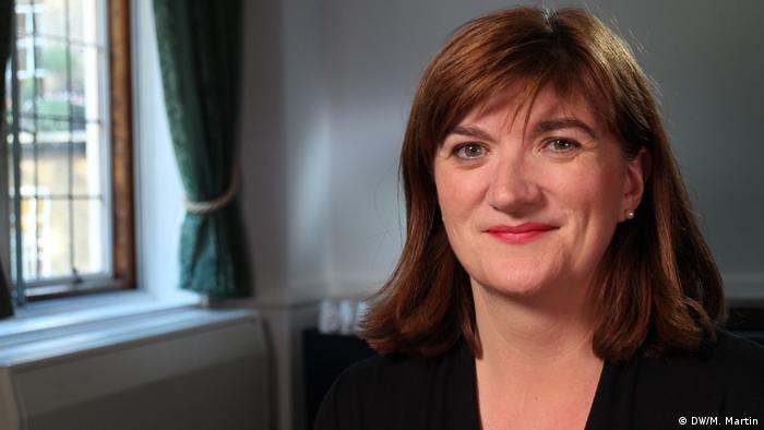 Nicky Morgan, ministra de Cultura, es una más de las que abandonarán el Parlamento.