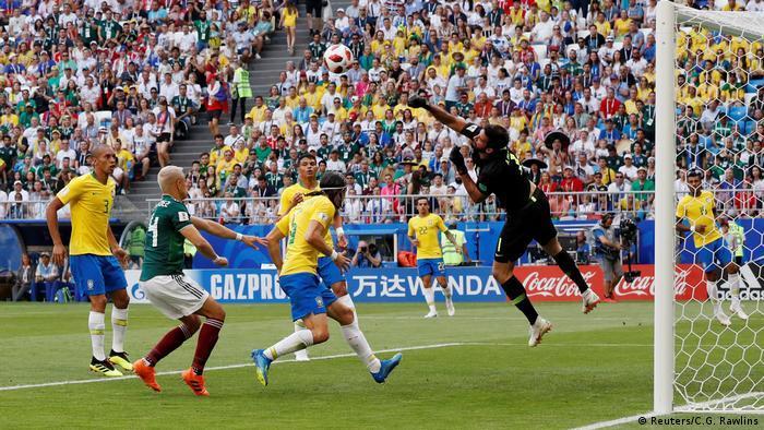 Fußball WM 2018 Brasilien vs Mexiko