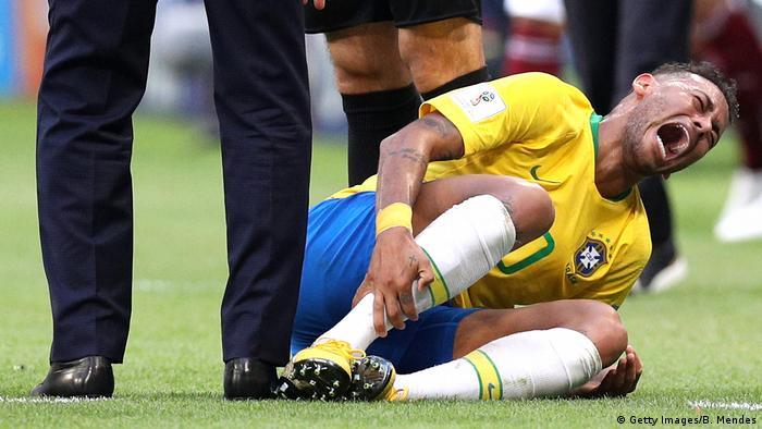 Brezilya'nın yıldız oyuncusu Neymar