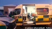 Südafrika, Kapstadt: Symbolbild Krankenwagen
