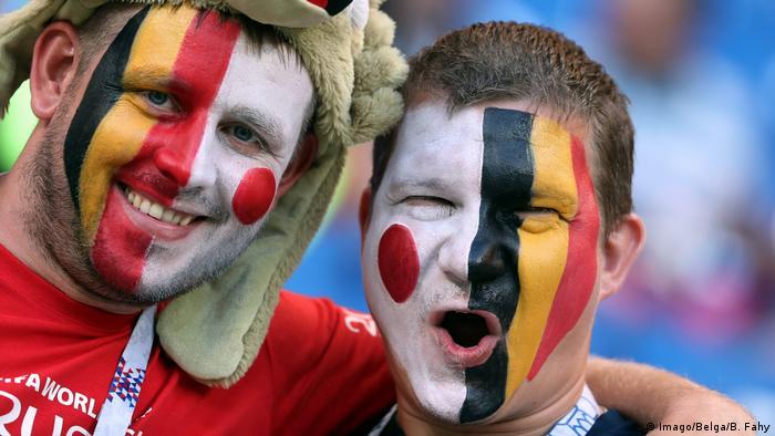 Fußball WM 2018 Belgien vs Japan (Imago/Belga/B. Fahy)