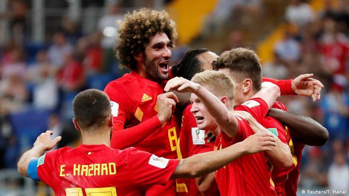 Fußball WM 2018 Belgien vs Japan Tor (Reuters/T. Hanai)