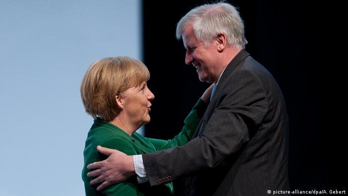 Merkel e Seehofer
