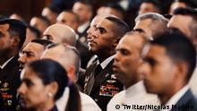 Venezuela Maduro Armee Zeremonie Beförderung