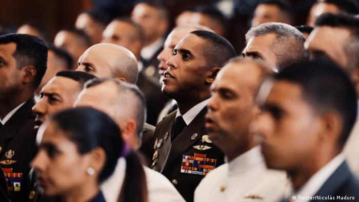 Venezuela Maduro Armee Zeremonie Beförderung (Twitter/Nicolás Maduro )