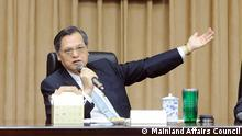 Chen Ming-Tong Mainland Affairs Council Taiwan