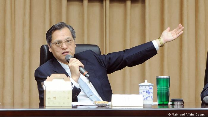 Chen Ming-Tong Continent Affairs Council Taiwan (continent's political issue)