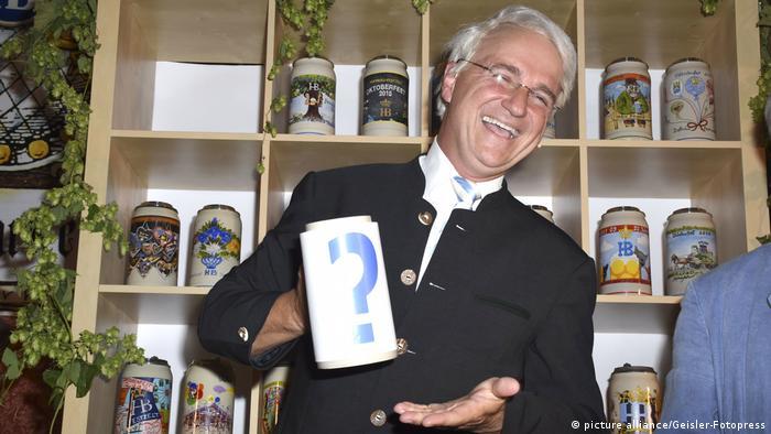 Kabarettist Wolfgang Krebs als Emund Stoiber