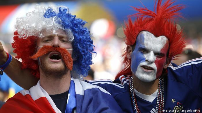 WM2018 Fußball Fans Russland (picture-alliance/dpa/Firo)