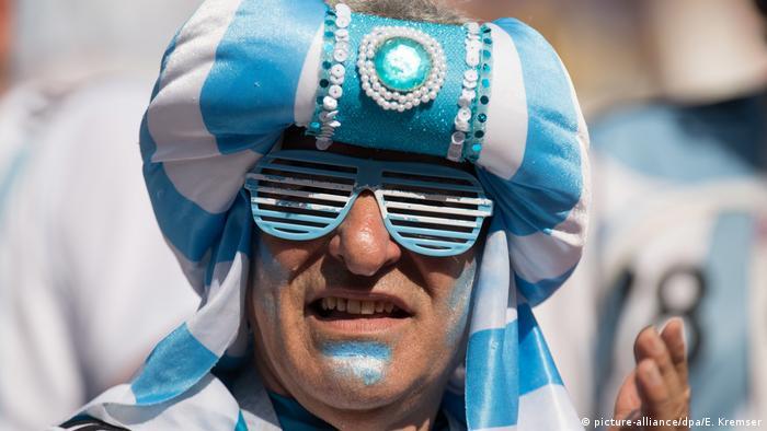 WM2018 Fußball Fans Russland (picture-alliance/dpa/E. Kremser)