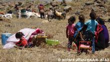 Syrische Flüchtlinge an der syrisch-israelischen Grenze