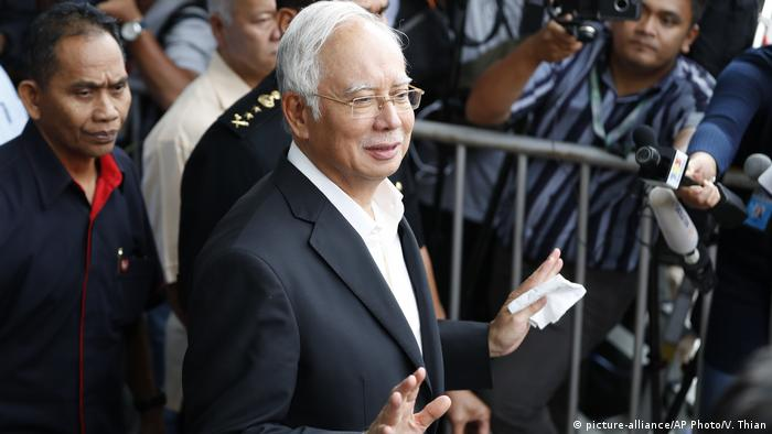 Najib Razak (picture-alliance/AP Photo/V. Thian)