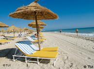 Der Strand vom Magic Life Djerba Mare Imperial in Tunesien   Pressefoto:TUI