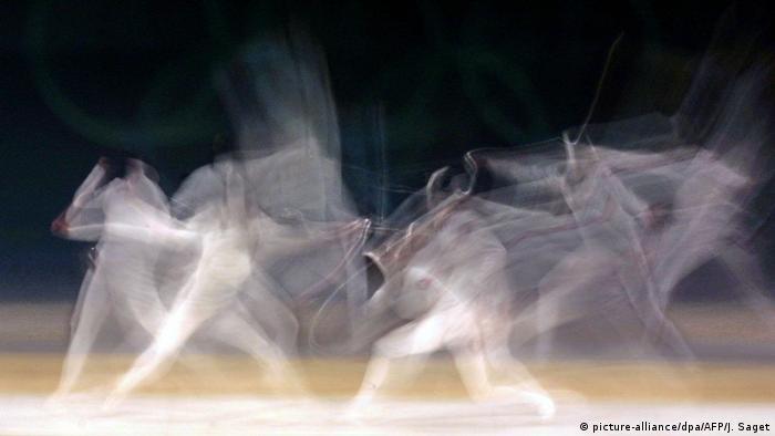 DW Wörter der Woche | Symbolbild Scheingefecht (picture-alliance/dpa/AFP/J. Saget)