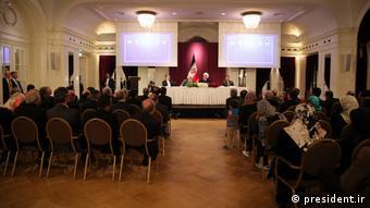 Rohanis Rede in der Schweiz (president.ir)