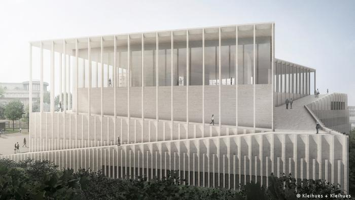 Проєкт Музею Майдану в Києві, німецьке архітектурне бюро Kleihues + Kleihues