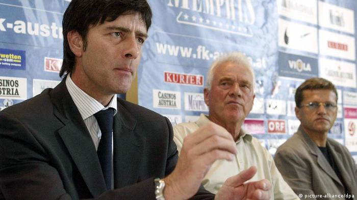 Fußball: Joachim Löw bei Austria Wien (picture-alliance/dpa)
