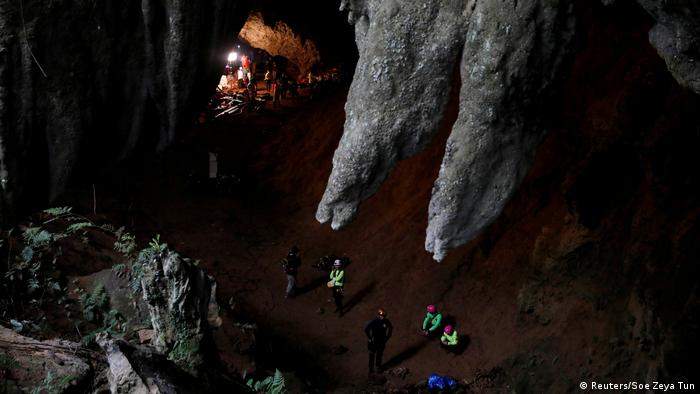 Thailand Rettungsaktion Fußballteam Höhle (Reuters/Soe Zeya Tun)
