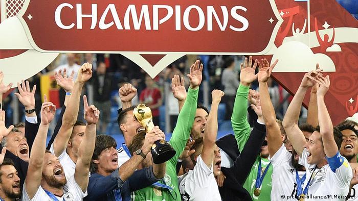Copa Confederaciones 2017, Alemania se consagra campeón.