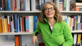 GFZ-GGeophysicist Charlotte Krawczyk