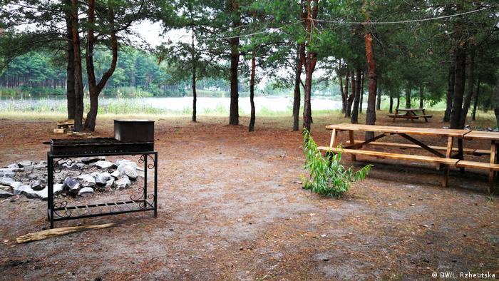 На території облаштованого кемпінгу можна зробити пікнік