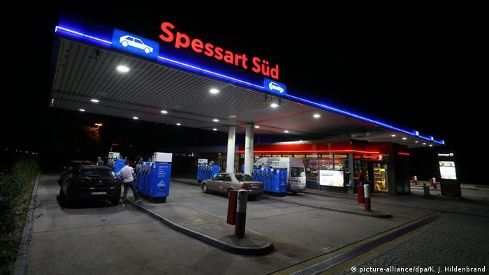 پمپبنزینی که دیپلمات ایرانی در آنجا دستگیر شد