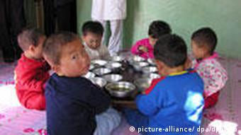 Hunger Nord Korea Hungernde Kinder