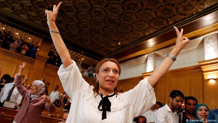 Tunesien Souad Abderrahim, erste weibliche Bürgermeisterin von Tunis (Reuters/Z. Souissi)
