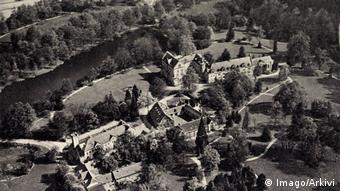 Замок Райнхардсбрунн - фото 30-х годов прошлого века
