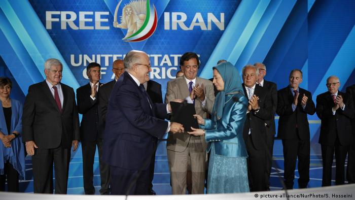 Frankreich Meeting Free Iran-Alternative in Paris