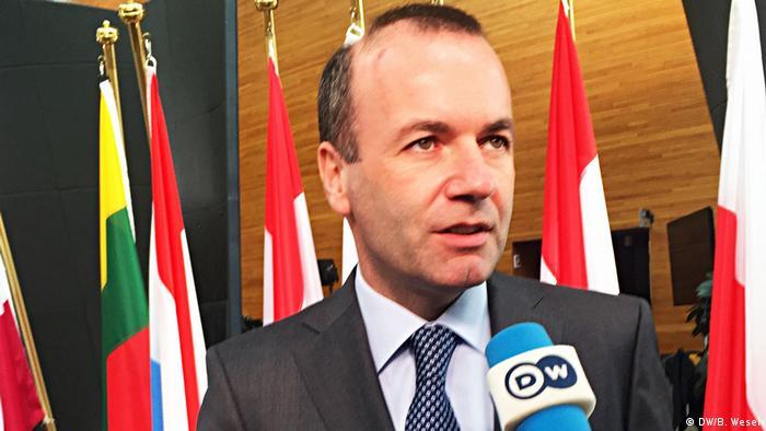 Manfred Weber, Vorsitzender EVP