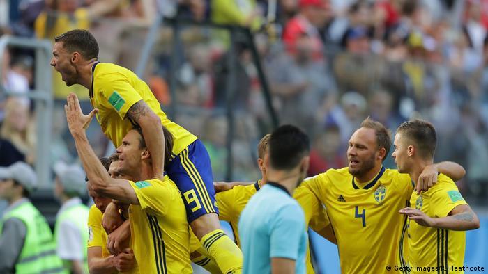 Fußball WM 2018 Schweden vs Schweiz (Getty Images/R. Heathcote)