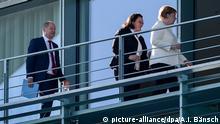 Deutschland Asylstreit - Koalitionstreffen im Kanzleramt
