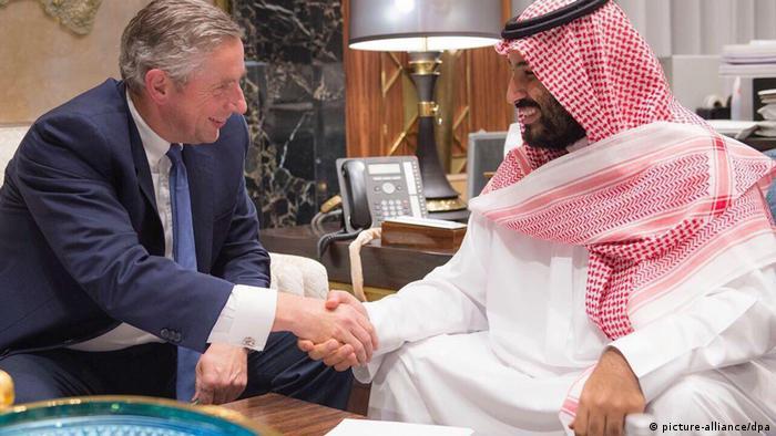 Saudi-Arabien plant Megastadt Neom (picture-alliance/dpa)