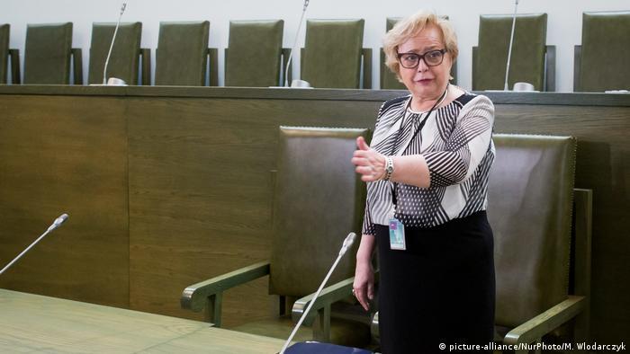 Polen Malgorzata Gersdorf, Präsidentin Oberstes Gericht