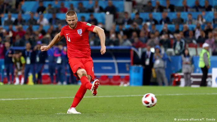Russland, Spartak Stadium: WM 2018: Kolumbien - England (picture-alliance/T. Goode)