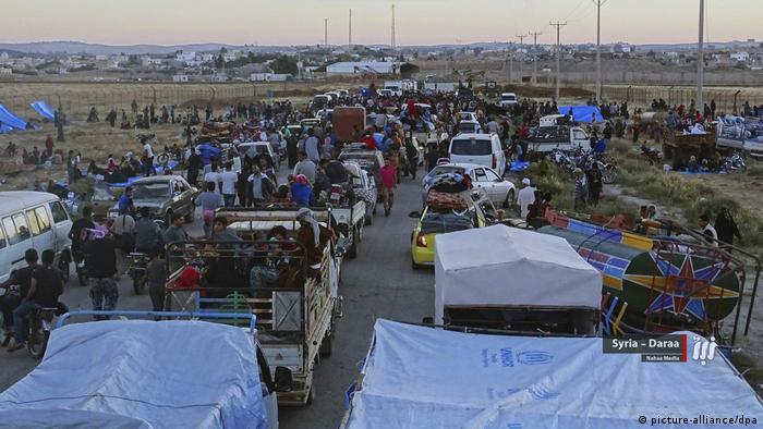 Syrien, Daraa: Konflikte in Syrien